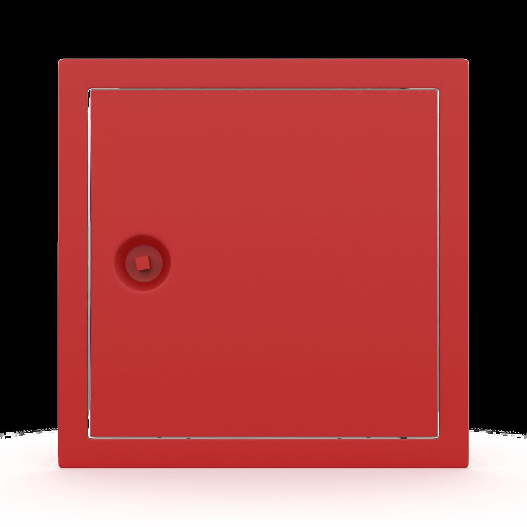 Trappe de visite métallique colorée Tempo Softline clé carrée 2