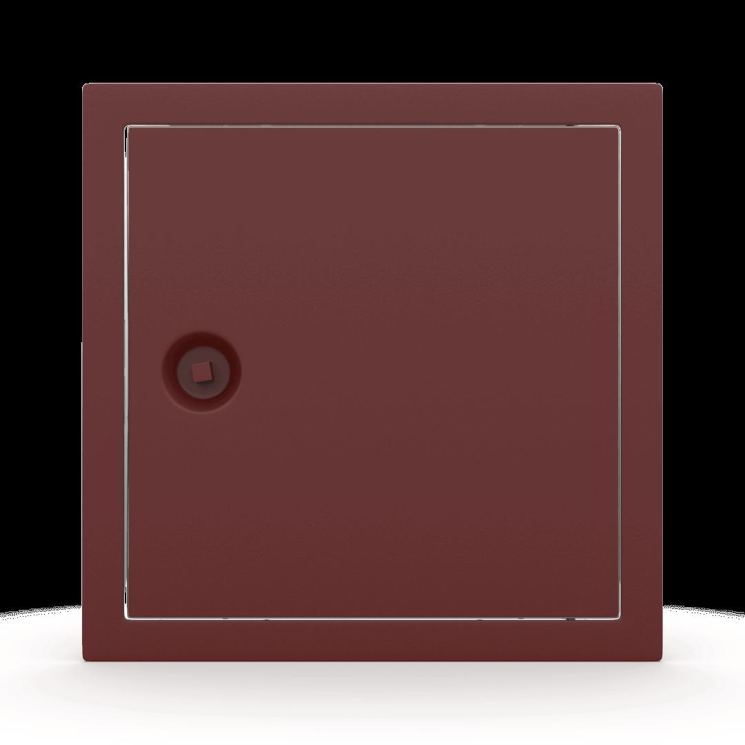 Trappe de visite métallique colorée Tempo Softline clé carrée 5