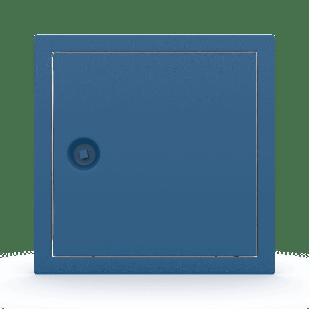 Trappe de visite métallique colorée Tempo Softline clé carrée 1