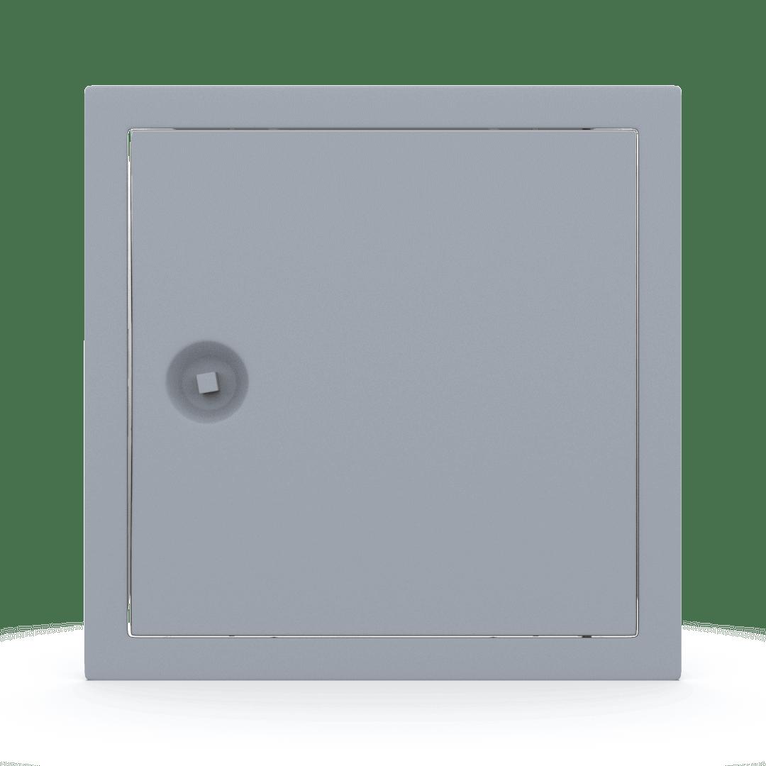 Trappe de visite métallique colorée Tempo Softline clé carrée 15