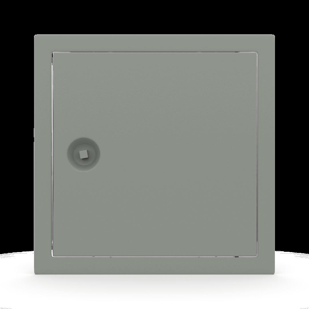 Trappe de visite métallique colorée Tempo Softline clé carrée 14