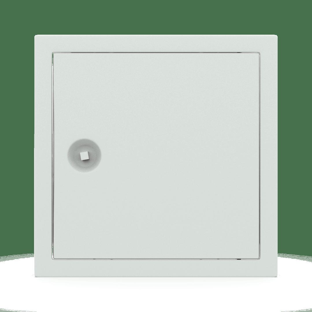 Trappe de visite métallique colorée Tempo Softline clé carrée 10