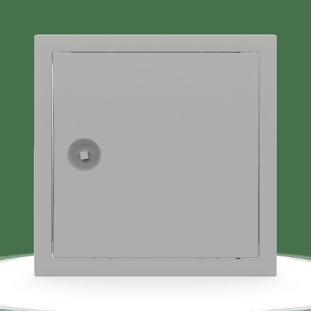 Trappe de visite métallique colorée Tempo Softline clé carrée 11