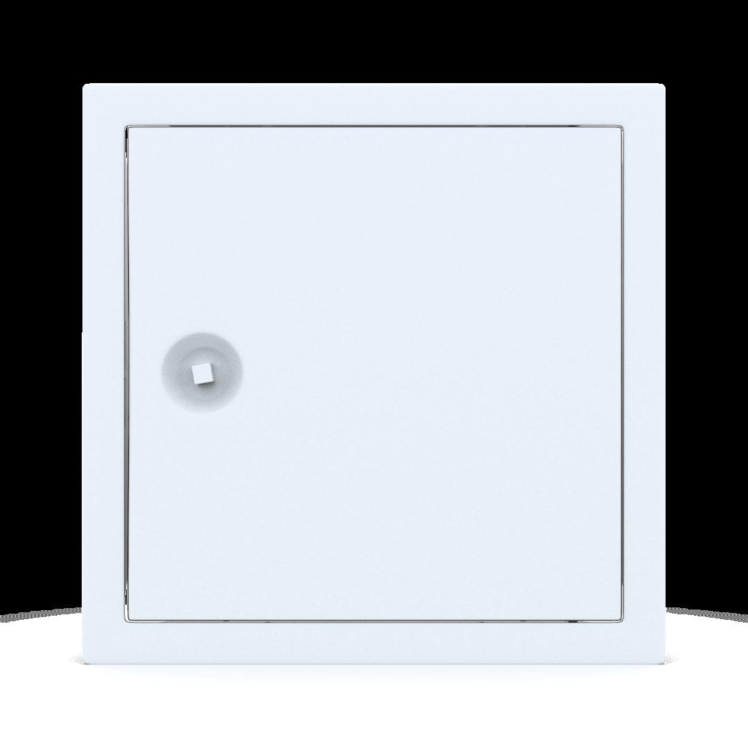 Trappe de visite métallique colorée Tempo Softline clé carrée 9