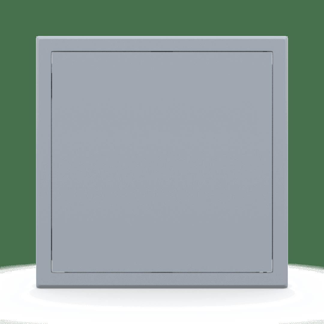 Trappe de visite métallique colorée Tempo Softline Pousser Lâcher 15