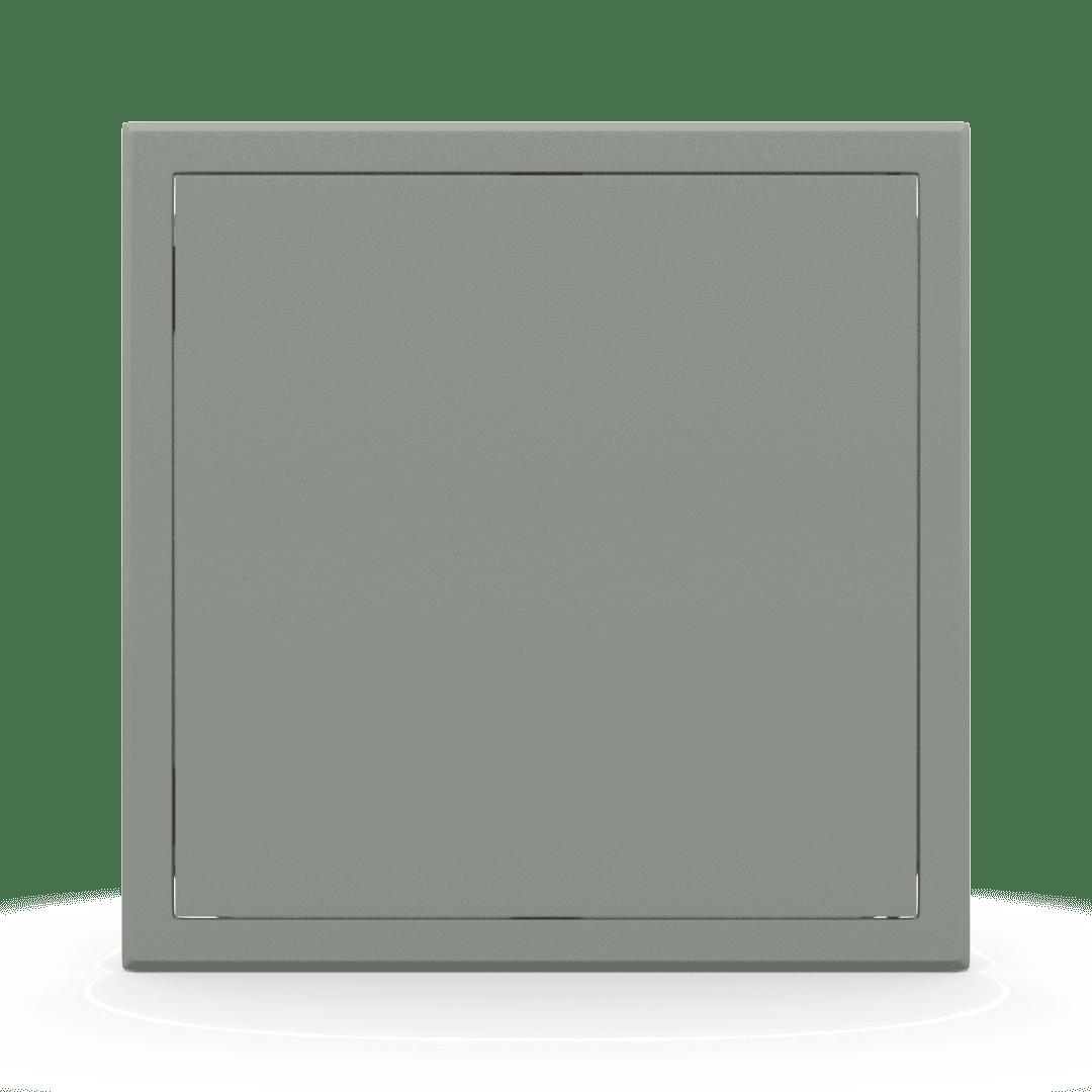 Trappe de visite métallique colorée Tempo Softline Pousser Lâcher 14