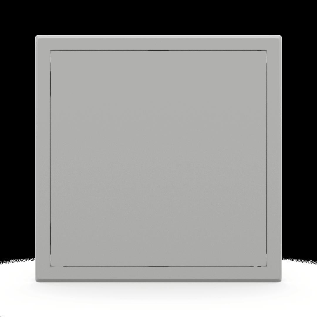 Trappe de visite métallique colorée Tempo Softline Pousser Lâcher 10