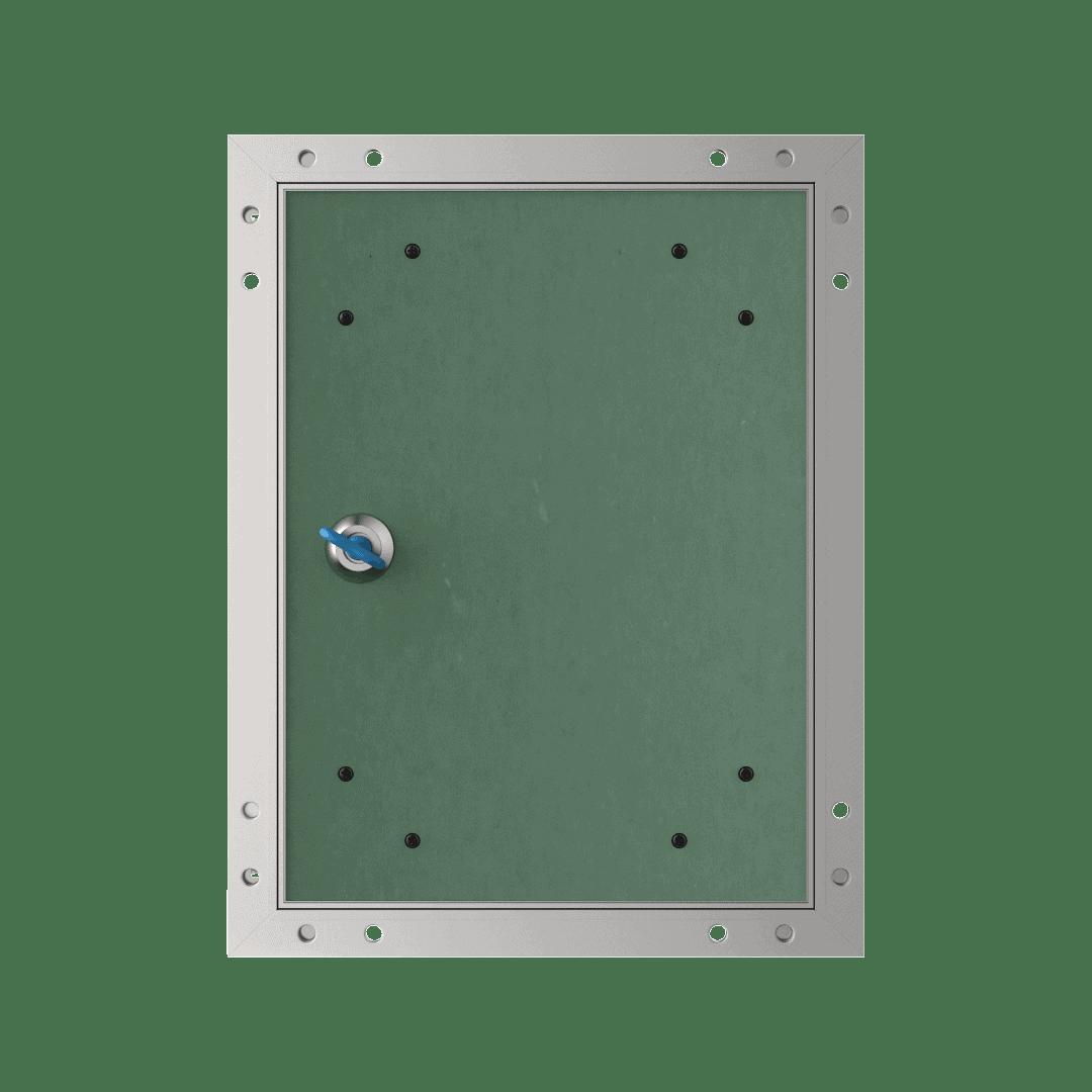 Trappe de visite invisibleTempo Eco Star clé carrée 8