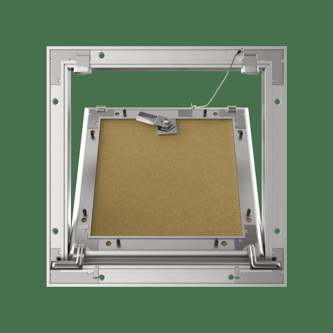 Trappe de visite invisibleTempo Eco Star clé carrée 4