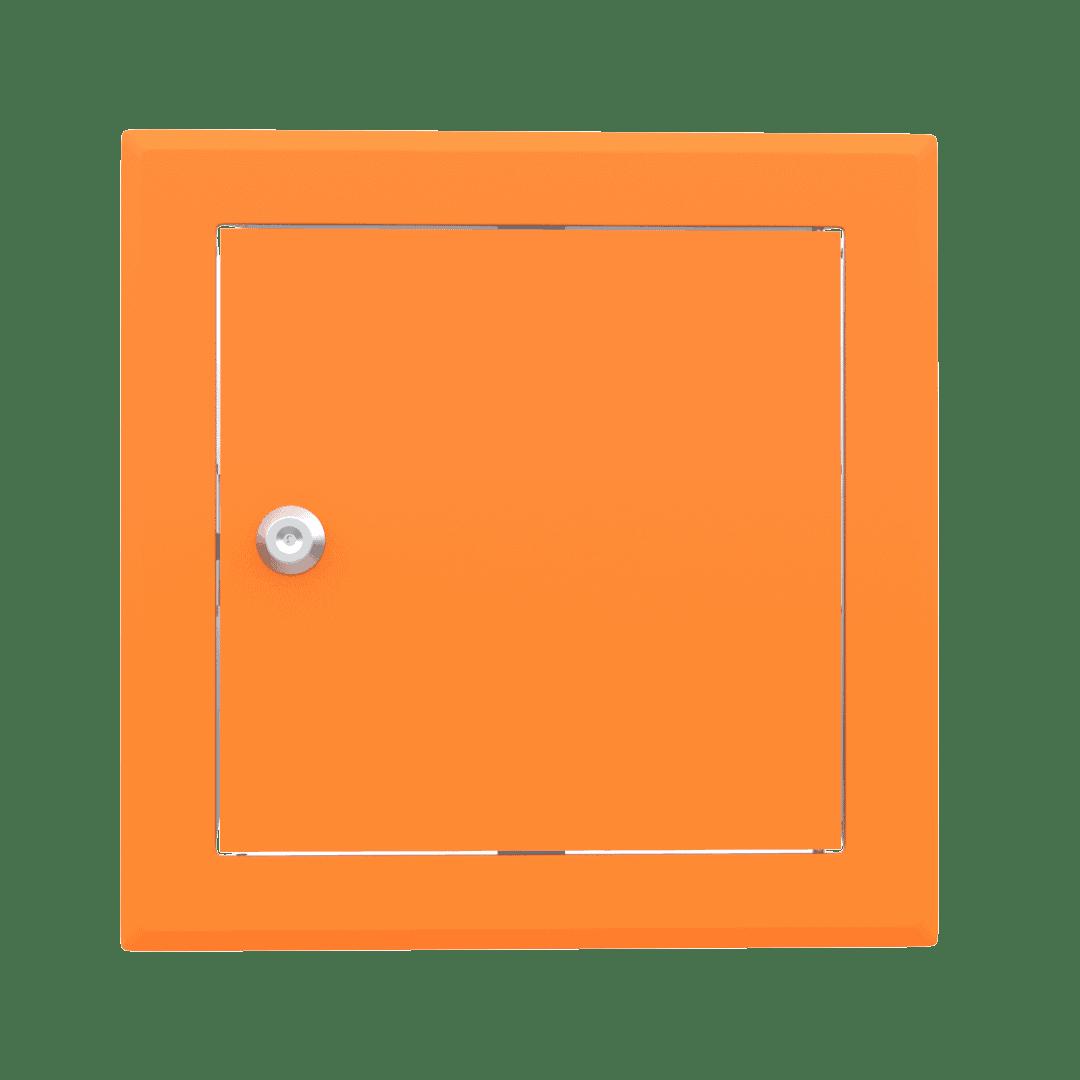 Trappe de visite métallique colorée Tempo Softline Clé cylindrique 2
