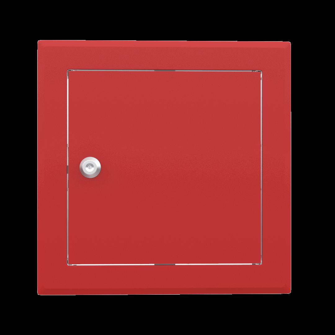 Trappe de visite métallique colorée Tempo Softline Clé cylindrique 3
