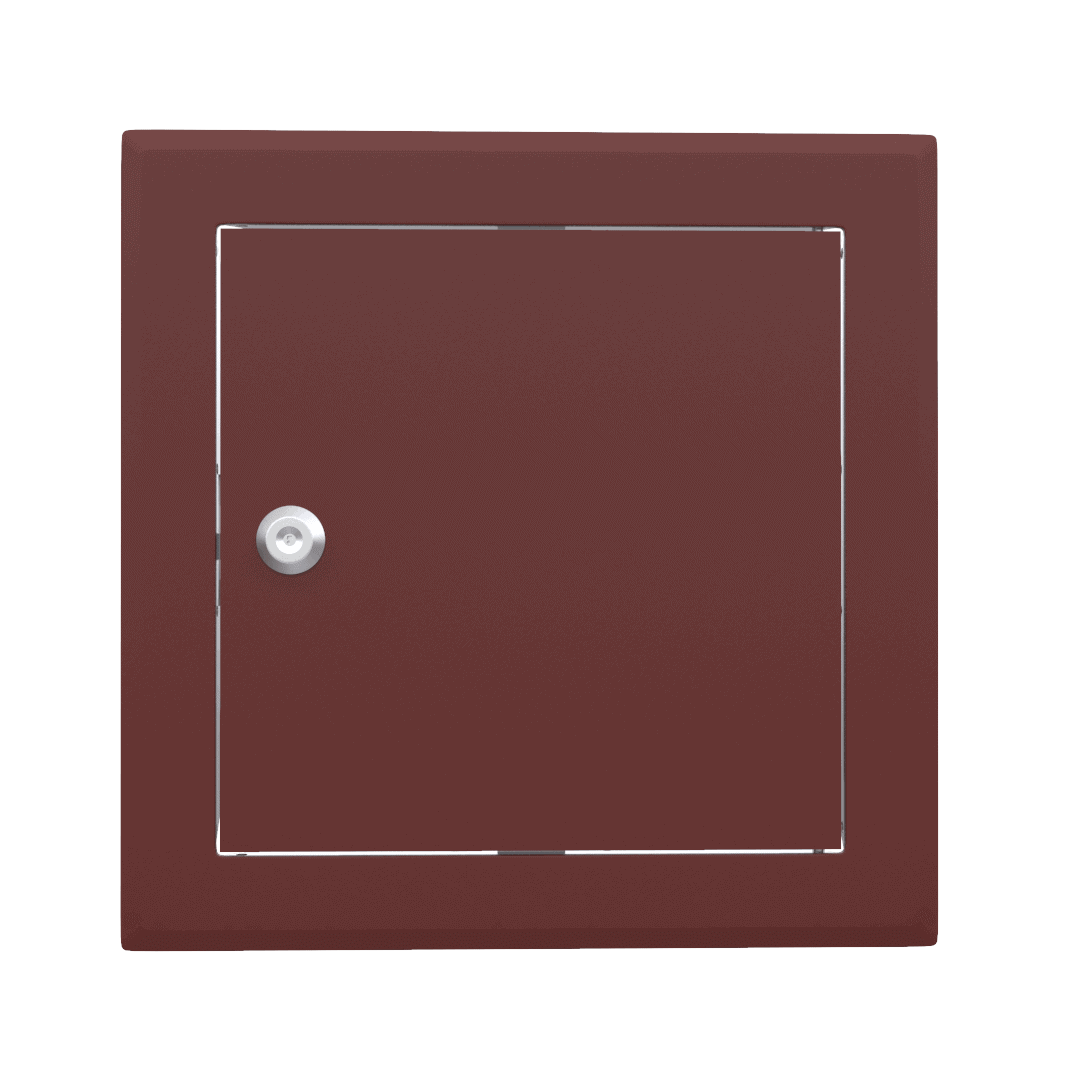 Trappe de visite métallique colorée Tempo Softline Clé cylindrique 4