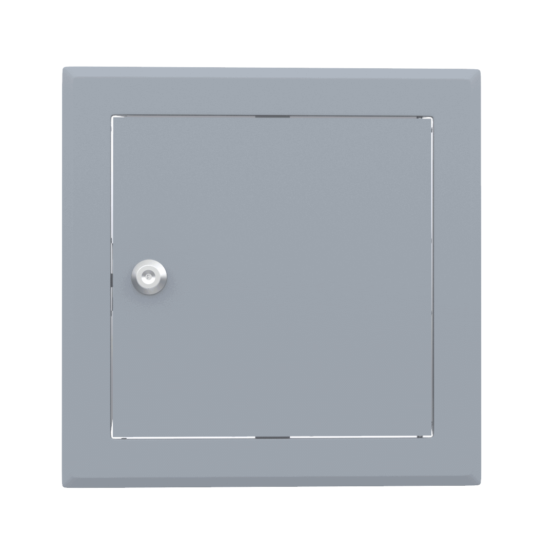 Trappe de visite métallique colorée Tempo Softline Clé cylindrique 15