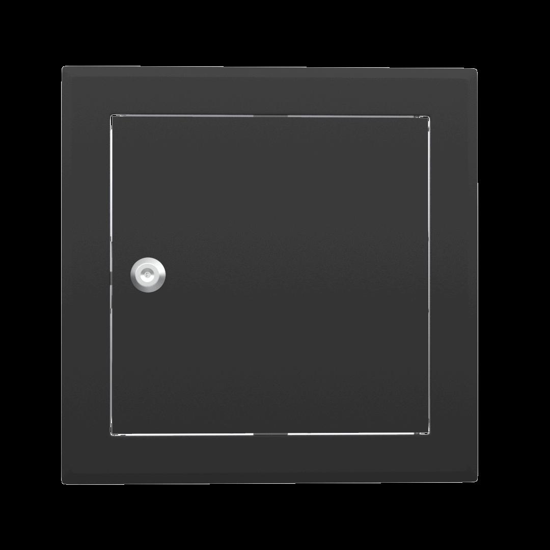 Trappe de visite métallique colorée Tempo Softline Clé cylindrique 11