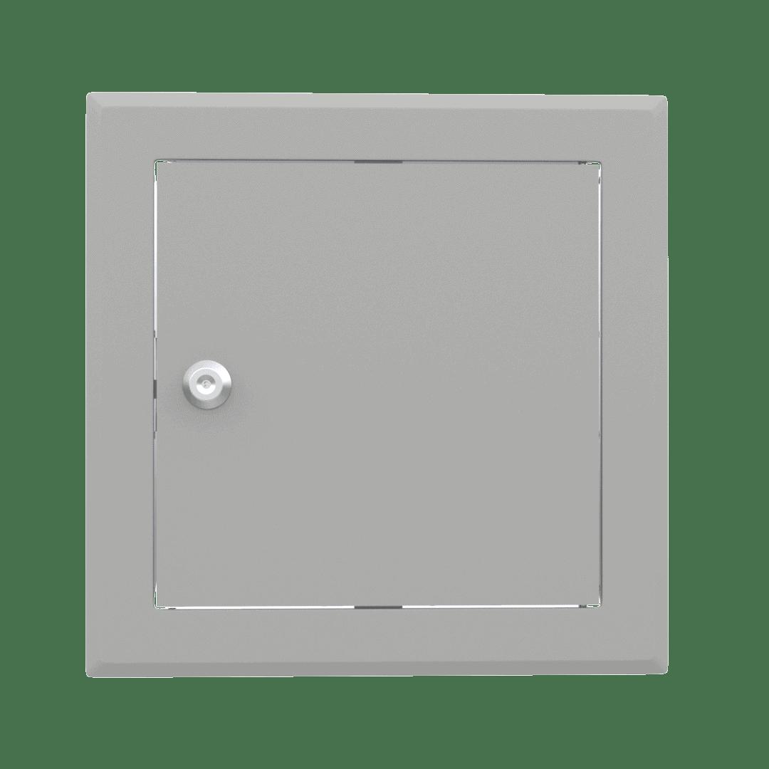 Trappe de visite métallique colorée Tempo Softline Clé cylindrique 10