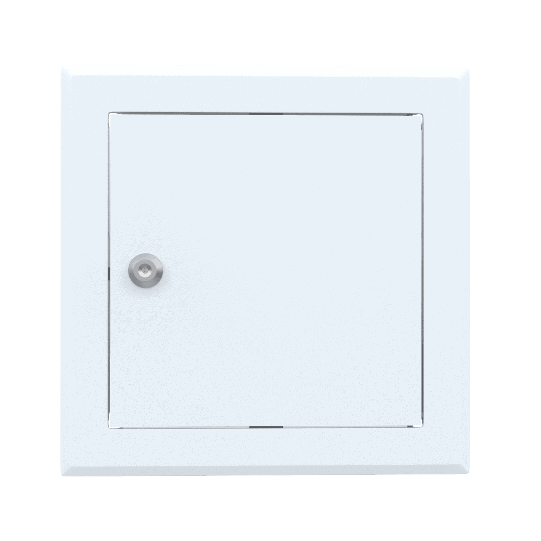 Trappe de visite métallique colorée Tempo Softline Clé cylindrique 7