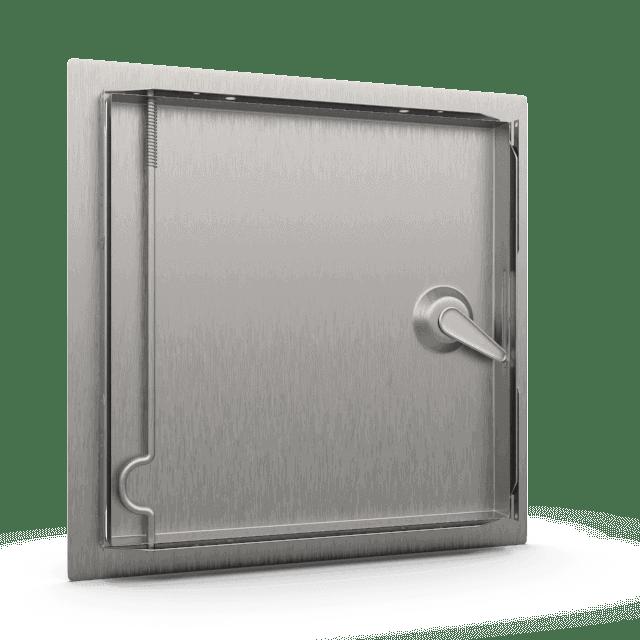 Trappe de visite métallique Tempo Softlineouverture clé carrée 4