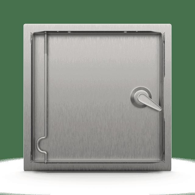 Trappe de visite métallique Tempo Softlineouverture clé carrée 2
