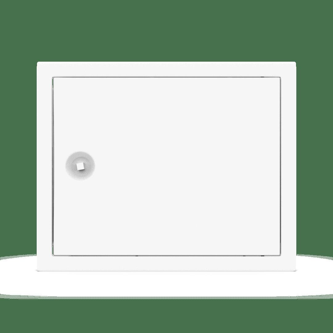Trappe de visite métallique Tempo Softlineouverture clé carrée 6