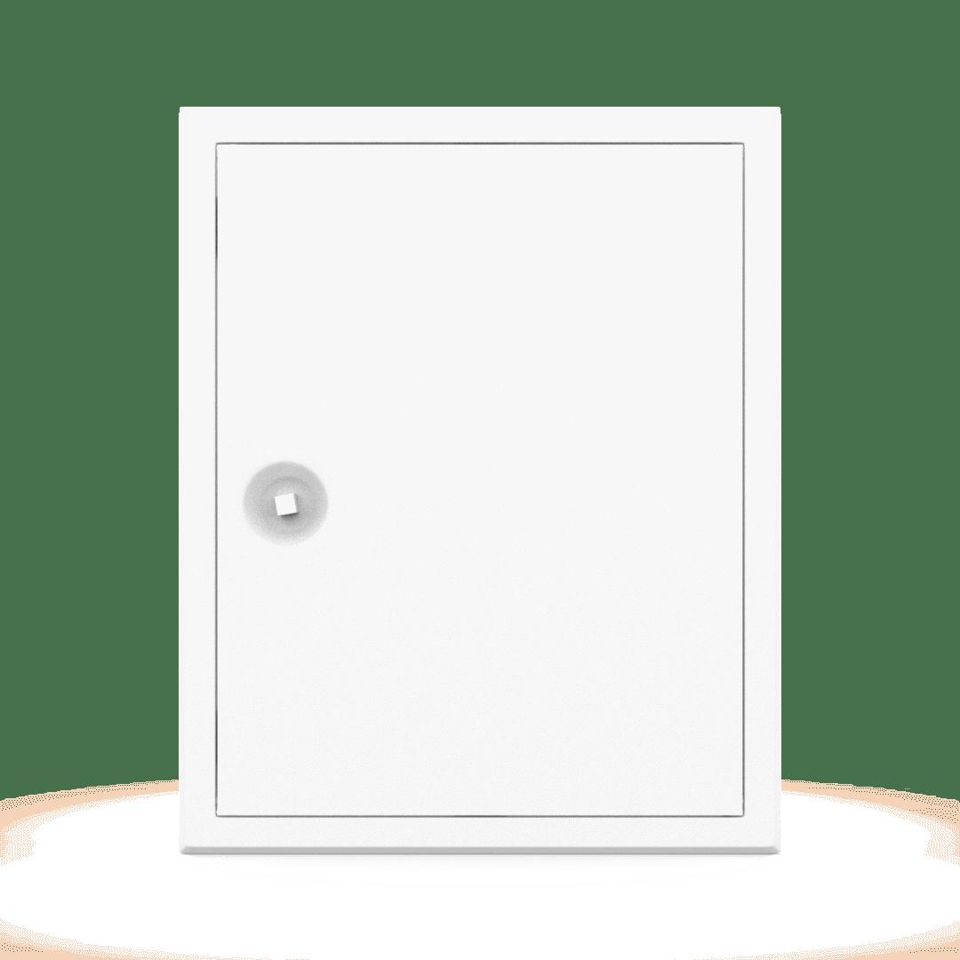 Trappe de visite métallique Tempo Softlineouverture clé carrée 7