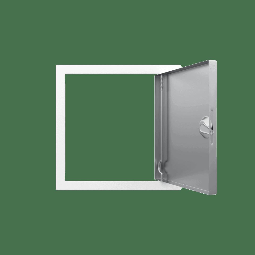 Trappe de visite métallique Tempo Softlineouverture clé carrée 5