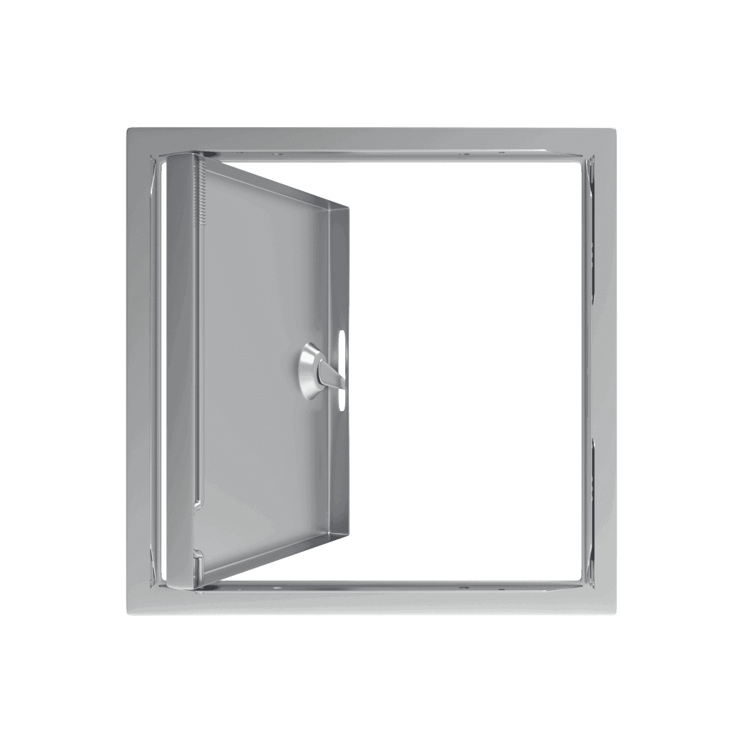 Trappe de visite métallique Tempo SoftlineClé cylindrique 5