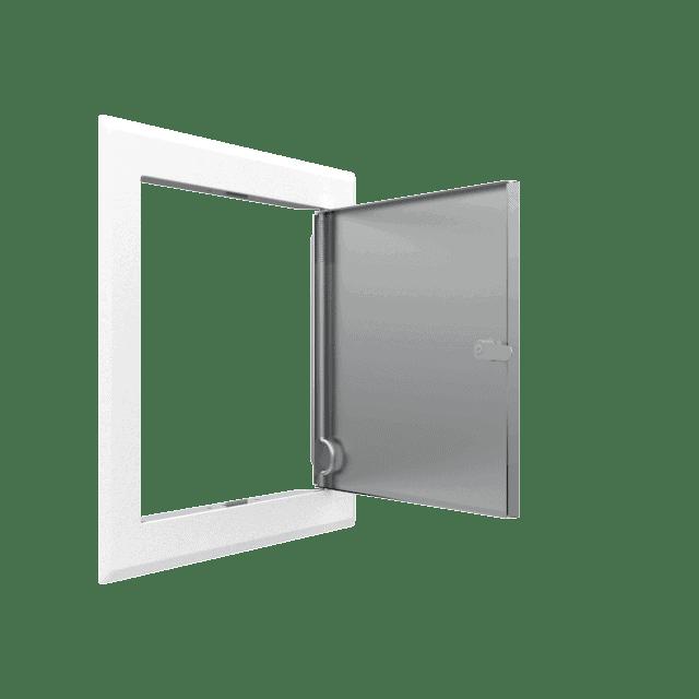 Trappe de visite métallique Tempo SoftlineClé cylindrique 6