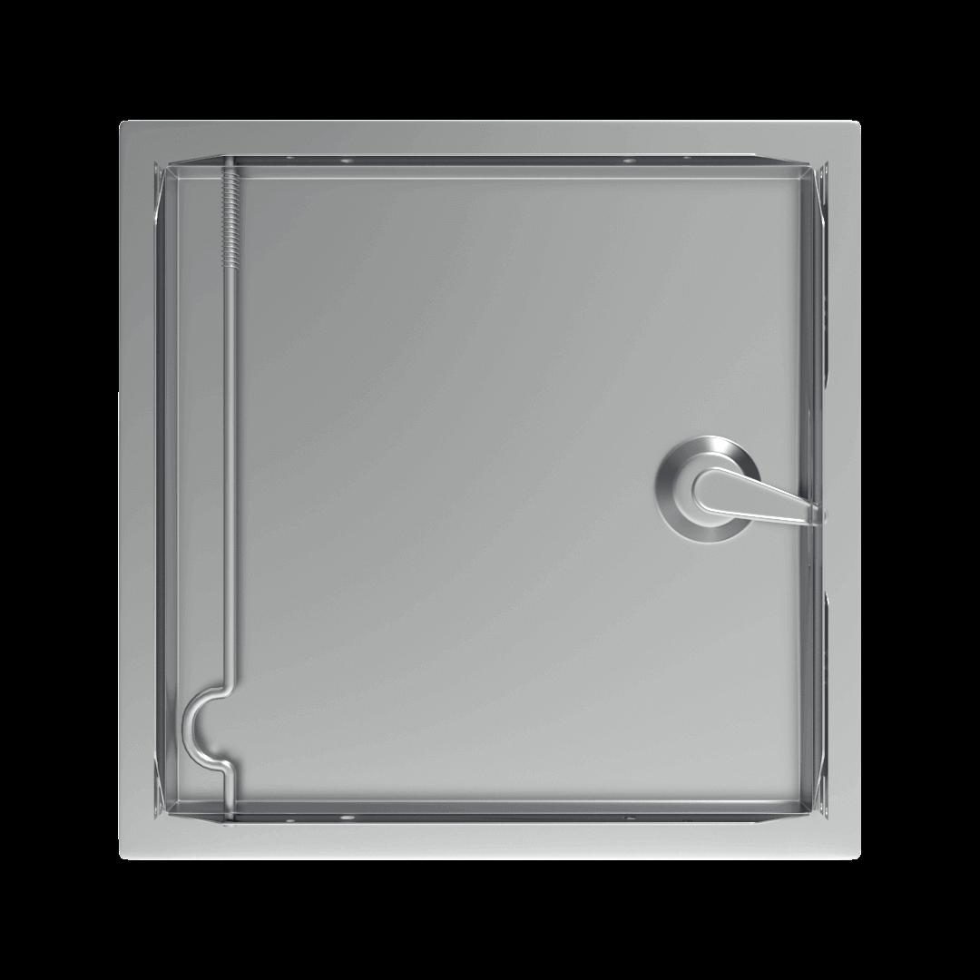 Trappe de visite métallique Tempo SoftlineClé cylindrique 2